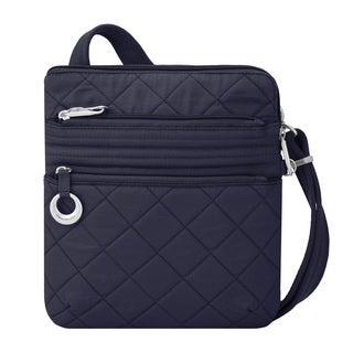 Travelon Boho Navy Ant-Theft Slim Crossbody Bag