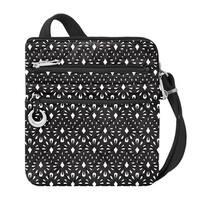 Travelon Boho Geo Shell Slim Anti-Theft Crossbody Bag - Black