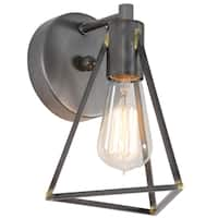 Varaluz Trini 1-light Gunsmoke Bath Fixture