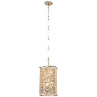 Varaluz Fascination 6-light Zen Gold Hex Foyer with Champagne Recycled glass
