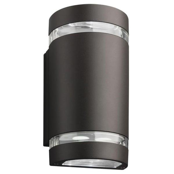 Lithonia Lighting Dark Bronze LED Outdoor Cylinder Up/Downlight