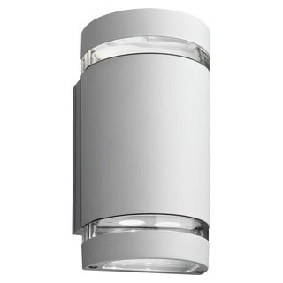 Lithonia Lighting White LED Outdoor Cylinder Up/Downlight