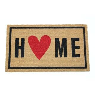 Home Heart Coir Door Mat (17 x 29 inches)