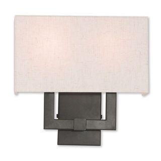 Livex Lighting Meridian English Bronze 2-Light Wall Sconce