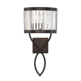 Nora 1-Light Burnished Bronze Wall Sconce