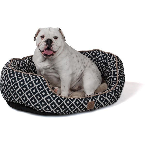 slide 1 of 5, Precision Pet Snoozzy Ikat Ease Daydreamer Pet Bed