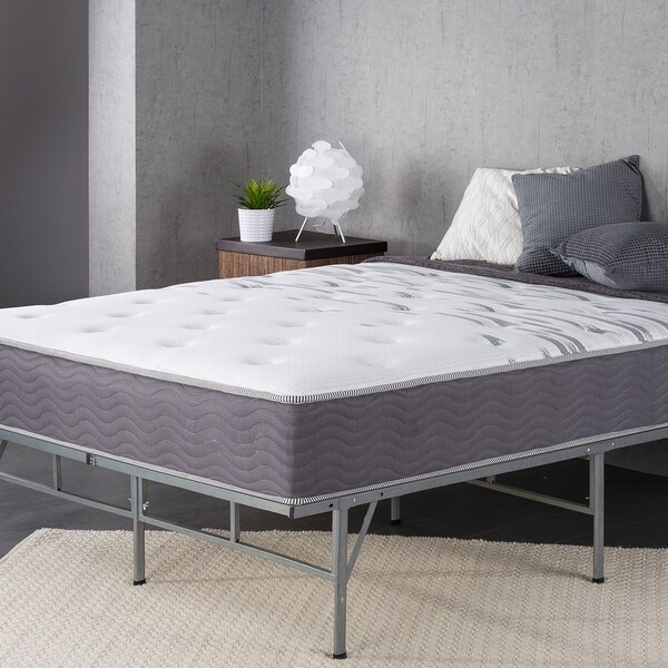 """Priage by ZINUS 10"""" Support Plus Pocket Spring Hybrid Mattress. Opens flyout."""