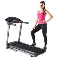 Marcy Folding Motorized Treadmill / Electric Running Machine - Black