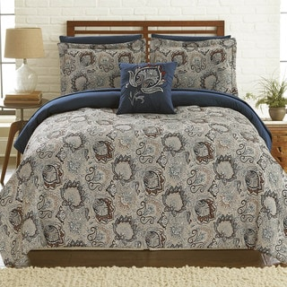 Link to Modern Threads Corsicana 8-Piece Printed Reversible Bed Set Similar Items in Bed-in-a-Bag