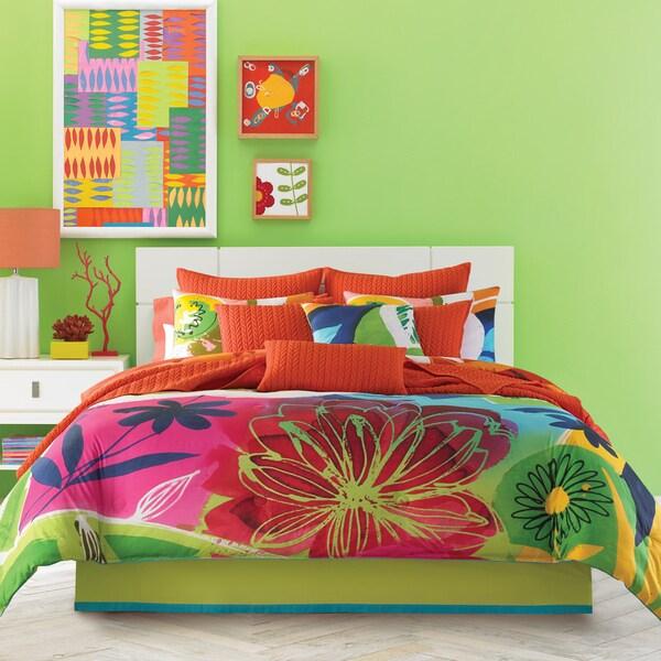 Five Queens Court Jayden 4-piece Cotton Comforter Set