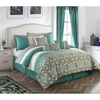 Reina 7 Piece Comforter Set by Nanshing