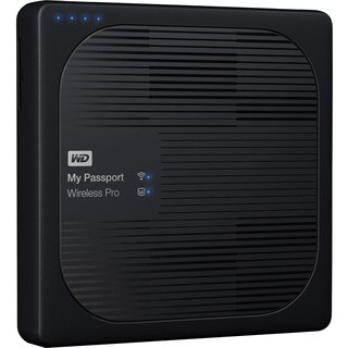 WD 4TB My Passport Wireless Pro Portable External Hard Drive - WiFi A