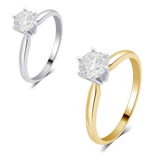Divina 14K gold 1/4ct TDW Diamond Solitaire Engagement Ring comes in a box. I2)|https://ak1.ostkcdn.com/images/products/14657940/P21195177.jpg?impolicy=medium