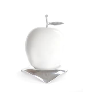 Artesana Home DW Apple White Large on a Hat Tray