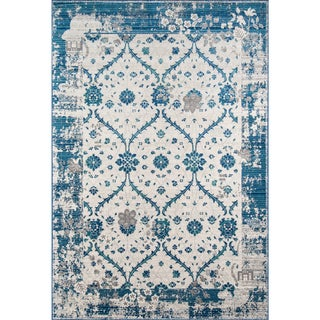 Mojave Jasper Blue Indoor/Outdoor Rug (8'6 x 11'6)