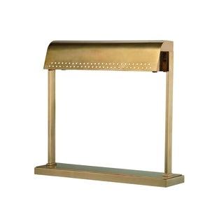 Hudson Valley Garfield LED Aged Brass Desk Lamp