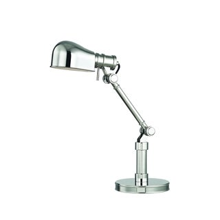 Hudson Valley Lighting Laconia Polished Nickel Metal 1-light Table Lamp