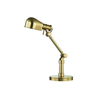 Hudson Valley Laconia Aged Brass 1-light Table Lamp