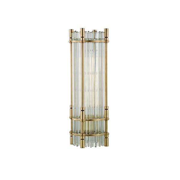 Hudson Valley Grant 1-light Aged Brass Desk Lamp