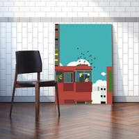 Mod Made 'An Afternoon in the North' Canvas Wall Art