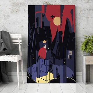 'Curiosity' Canvas Wall Art