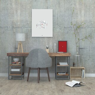 'Simply Grey' Canvas Wall Art
