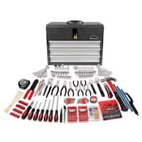 300-Piece all Purpose Mechanics Tool Kit in Heavy Duty 3-Drawer Steel Tool Box