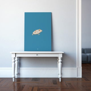 'Simply Blue' Canvas Wall Art