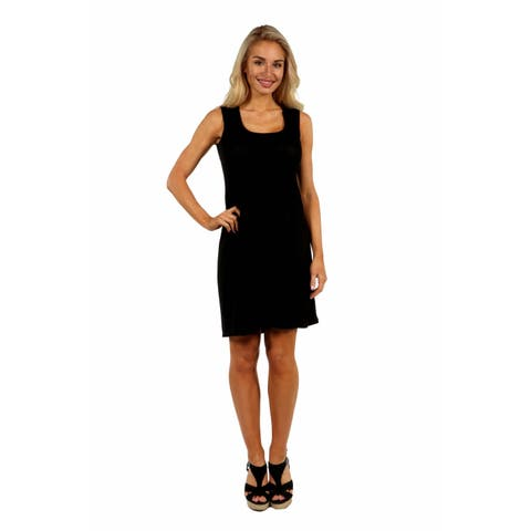 24/7 Comfort Apparel Hourglass Shift Dress