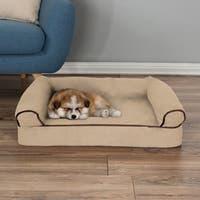 Petmaker Orthopedic Memory Foam Pet Bed Sofa