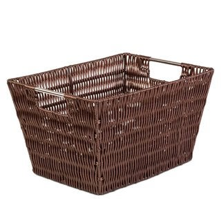 Creative Scents Medium Brown Woven Storage Basket