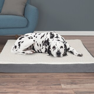 PETMAKER Orthopedic Sherpa Top Pet Bed (More options available)