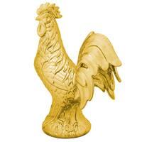 Varaluz Casa Americana Gold Rooster Statue