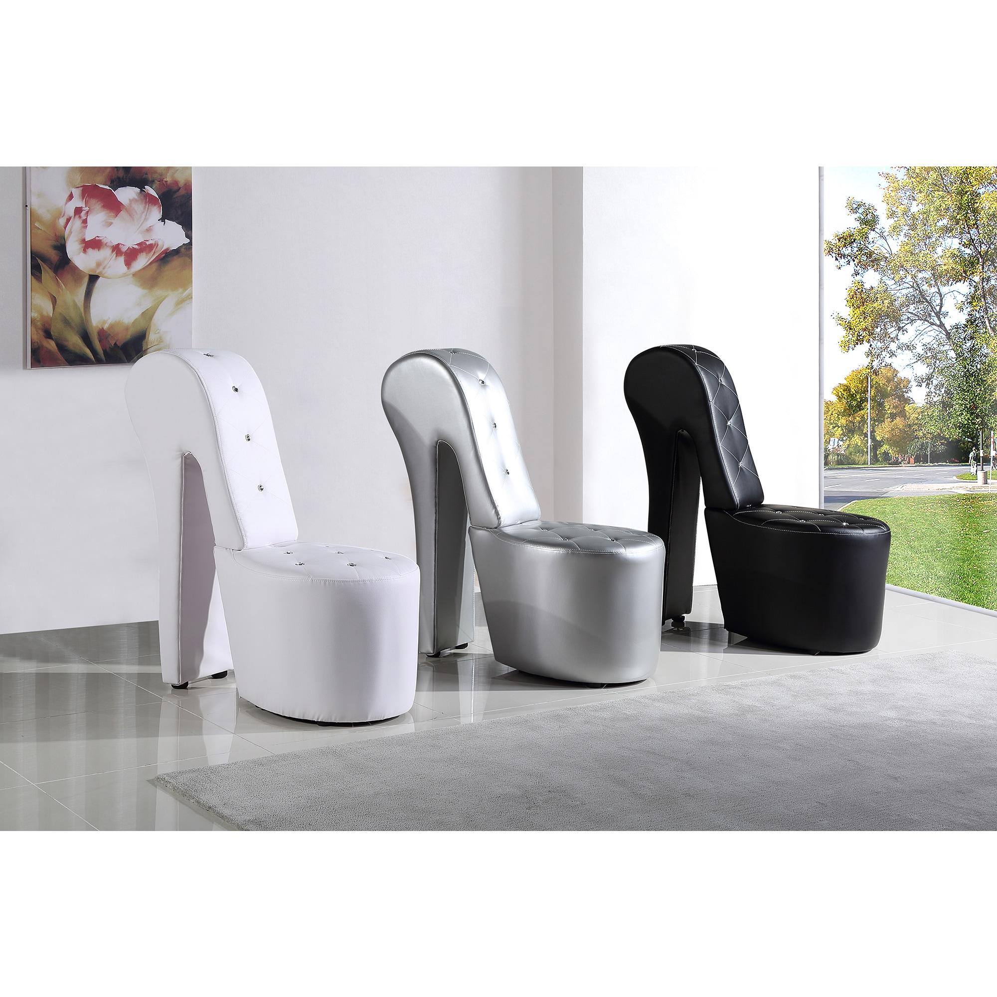 Best Master Furniture High Heel Leather Shoe Lounge