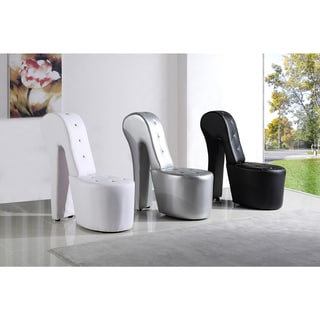 Best Master Furniture High Heel Leather Shoe Lounge Chair