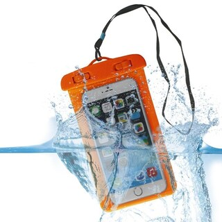 Water Resistance Transparent Dust-proof, Rain&snow-proof Scratch-proof Cell Phone Dry Bag Pouch colors may vary