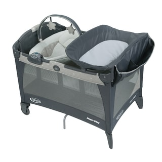 Graco Stars Pack 'n Play Grey Newborn Napper Station LX Playard