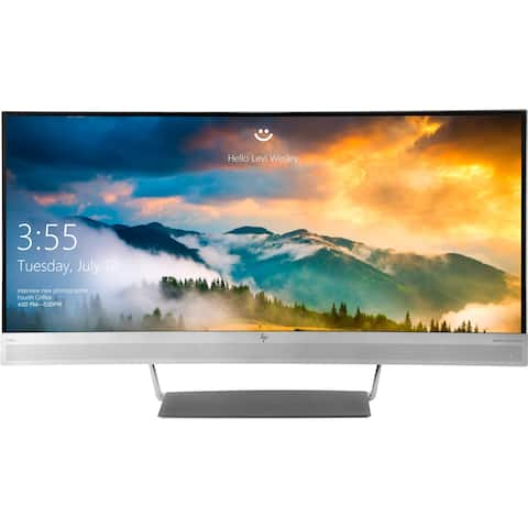 "HP Business S340c 34"" UW-QHD Curved Screen LED LCD Monitor - 21:9"