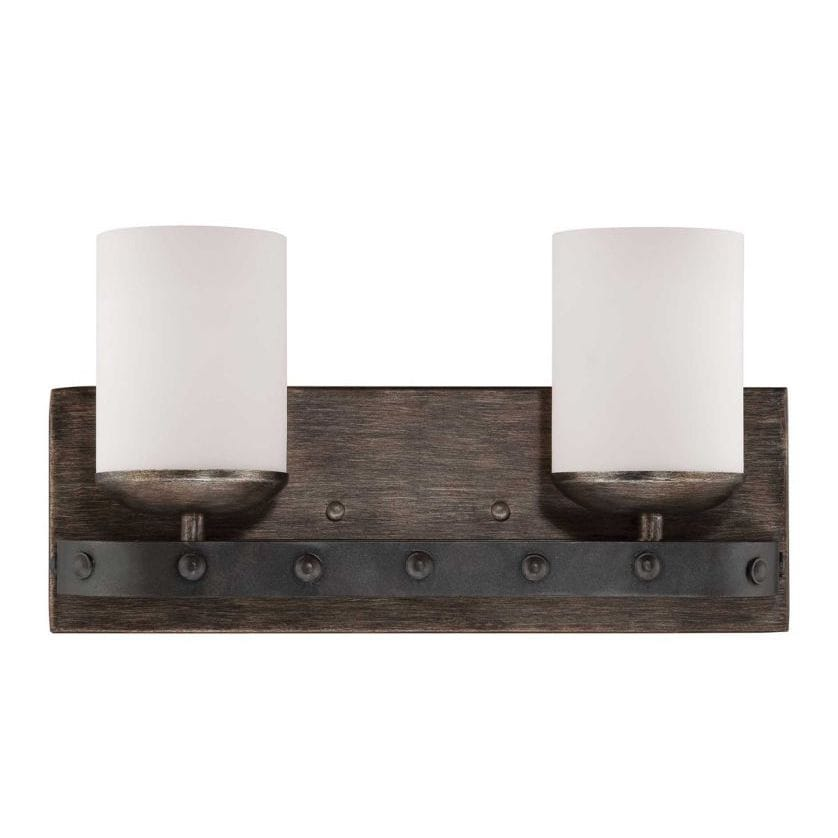 bathroom vanity light wall mount sconce frosted glass shade up down