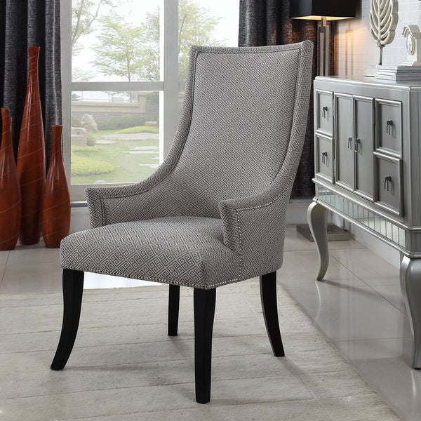 Light Grey Accent Chair: Shop Best Master Furniture Taupe And Light Grey Pattern