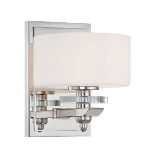 Oneida 1-Light Polished Nickel Wall Sconce