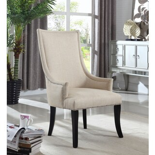 Best Master Furniture Natural Fabric Accent Chair