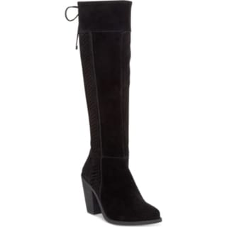 Jessica Simpson Women's Ciarah Black Suede Boots