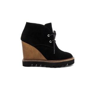 BCBGeneration BCBG Women's Nariska Black Suede Boots