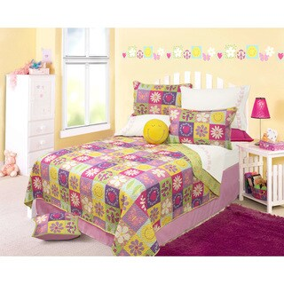 Emylie Printed 3-piece Quilt Set