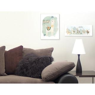 Stupell Llama Squad Wall Plaque Art
