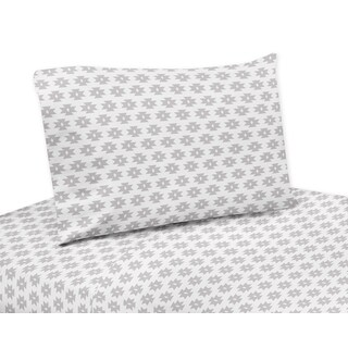 Feather Collection Twin and Queen Sheet Sets by Sweet Jojo Designs