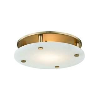 Hudson Valley Croton 18-light LED Aged Brass Large Flush Mount