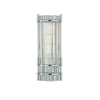 Hudson Valley Grant 1-light Polished Nickel Wall Sconce