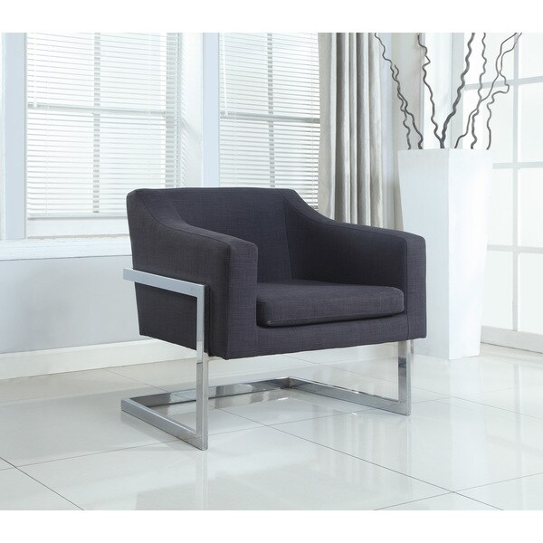 Shop Best Master Furniture Modern Helix Fabric Arm Chair